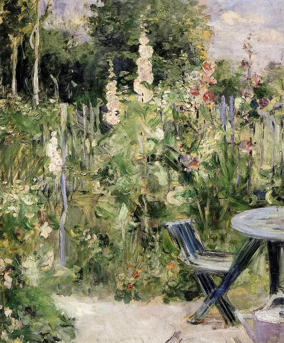 """""""Malvarose"""" di Berthe Morisot"""